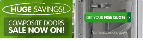 February sale, up to 50% off composite guard doors. Get your free quote from the UK's No 1.