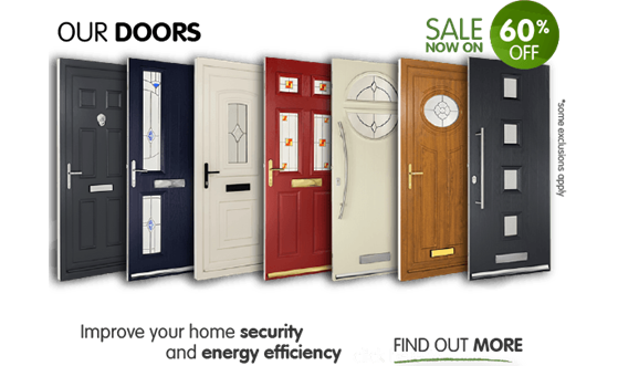 Our Doors. Improve your home security and energy efficiency. Now with 60% off! Keep out the cold this winter with replacement doors from Safestyle. *Some exclusions apply