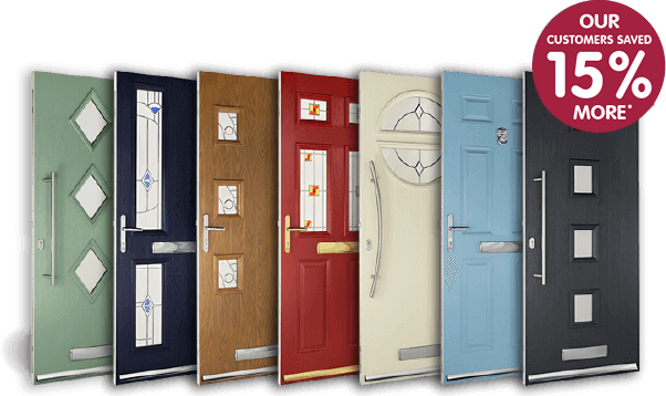 Composite guard doors. Our customers saved 15% more compared to our competitors*.