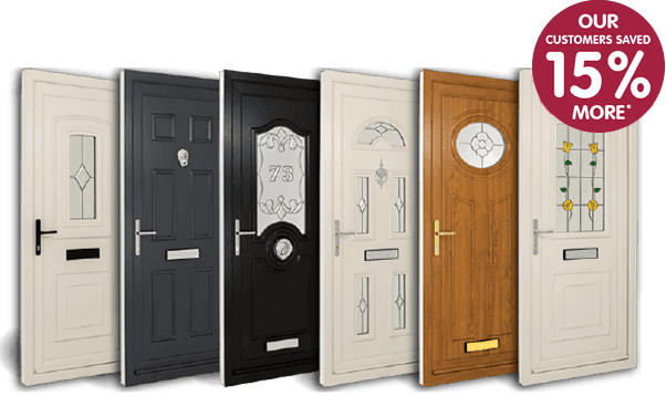 EcoDiamond uPVC doors.Our customers saved 15% more compared to our competitors*.