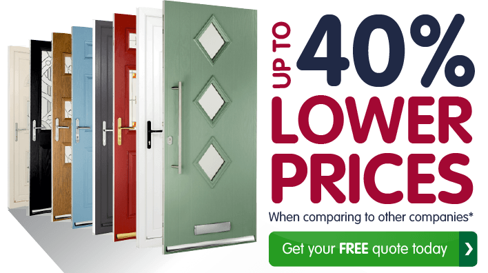 Our customers enjoyed up to 40  lower prices when compared to other  companies  GetuPVC Double Glazed Exterior Doors   Safestyle UK. Double Glazed Front Door Prices Uk. Home Design Ideas