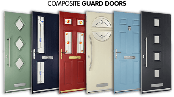Composite guard doors. Our customers enjoyed up to 40% lower prices when compared to other companies*  Based on a survey of Safestyle customers July 2017.