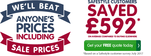 Safestyle customers saved £892* on average compared to buying elsewhere. uPVC Windows. Get your free quote today.  *Savings based on a Safestyle customer survey in June 2017