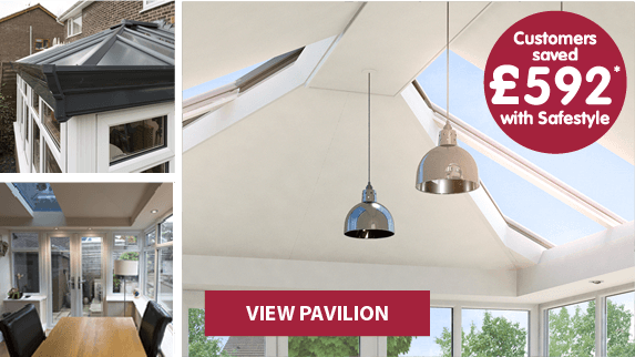 Pavilion conservatory range, find out more. Customers saved £892* with Safestyle