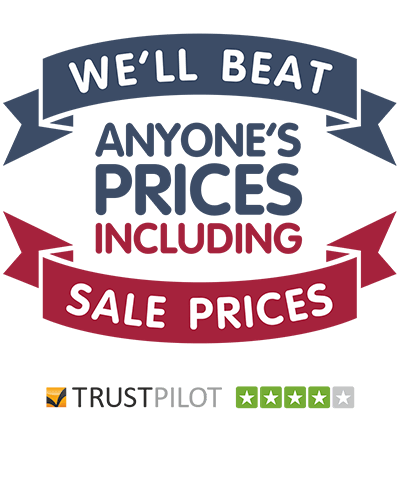 We'll beat anyone's prices including sale prices.