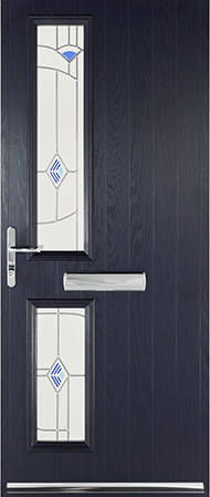 Blue Turin door