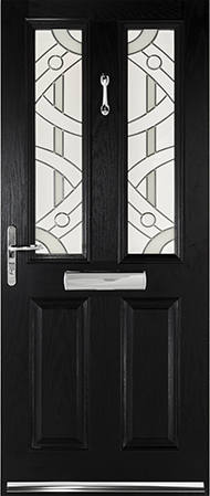 Black Windsor door