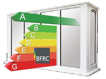 Upvc double glazed bay windows safestyle uk for Energy efficient bay windows