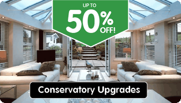 50% off conservatory upgrades