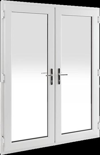 French doors in oak  sc 1 st  Safestyle UK & uPVC French Doors for Exterior \u0026 Internal | Safestyle UK