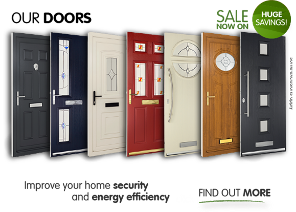 Our doors. Sale now on, up to 60% off. Improve your home security and energy efficiency. Find out more. (*some exclusions apply)