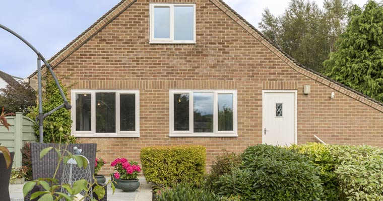 House With uPVC Windows