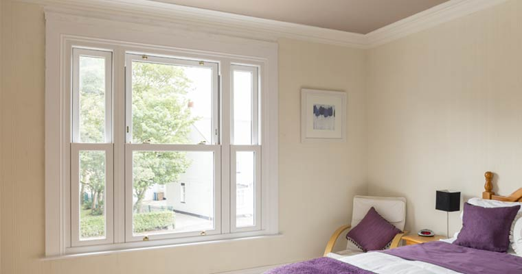Sash uPVC window
