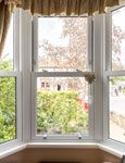 Bay sash windows