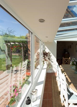 Classic conservatory install shot 2