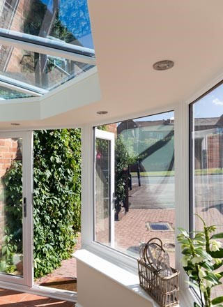 Classic conservatory install shot 3