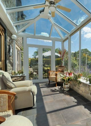 Classic conservatory install shot 4