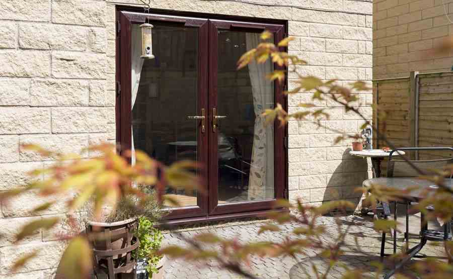 Rosewood french doors & Local to You | Safestyle