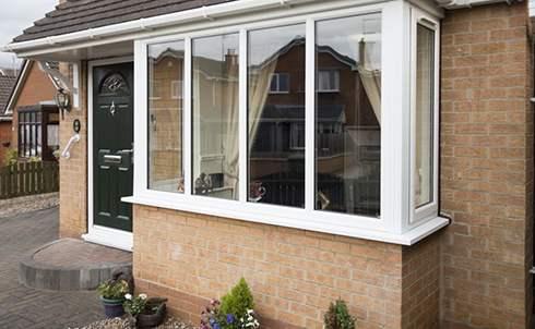 Bay windows safestyle uk for Box bay windows for sale