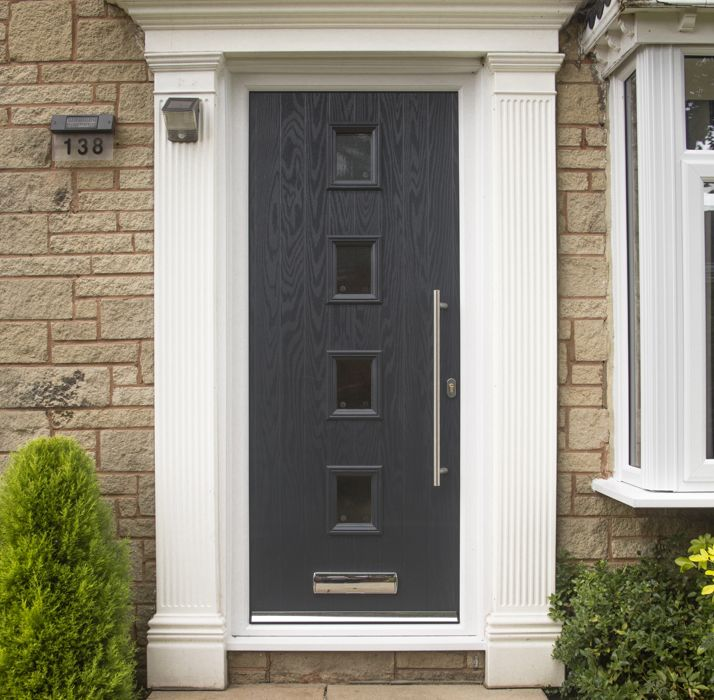 Composite double glazed front doors safestyle uk for Front door styles