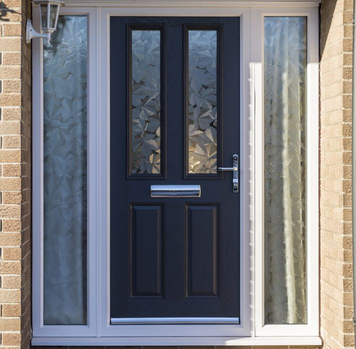 Composite double glazed front doors safestyle uk for Composite front doors
