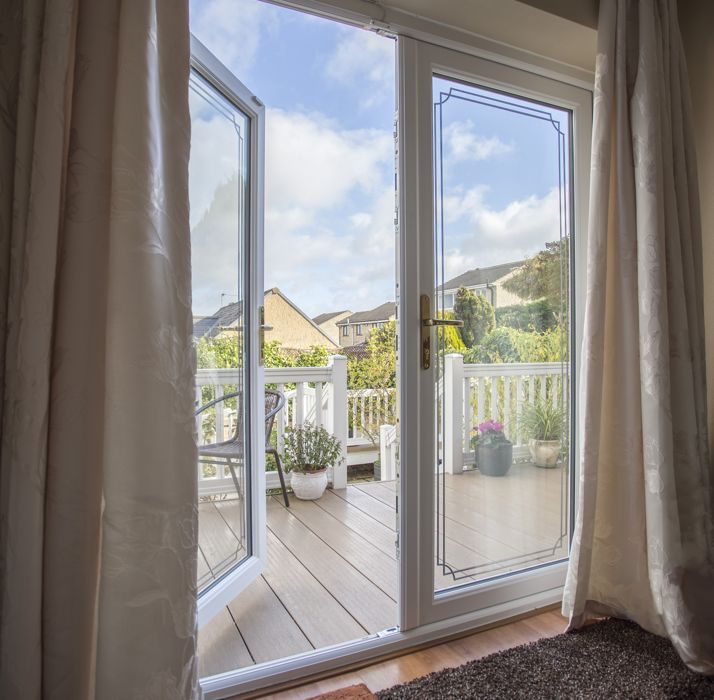 Upvc french doors for exterior internal safestyle uk for Upvc french doors draught