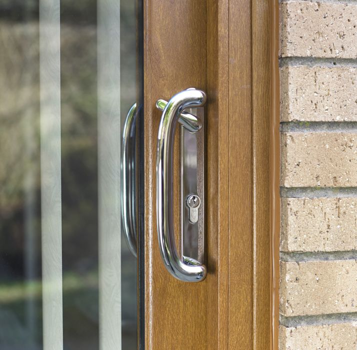 Image Number 7 Of Safestyle Patio Doors . & Safestyle Door Handles \u0026 D273 Coastal Polished Gold Stainless ... Pezcame.Com