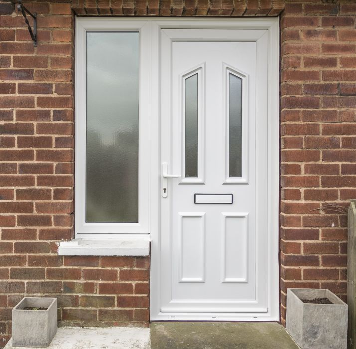 Upvc double glazed front doors safestyle uk for Upvc front doors