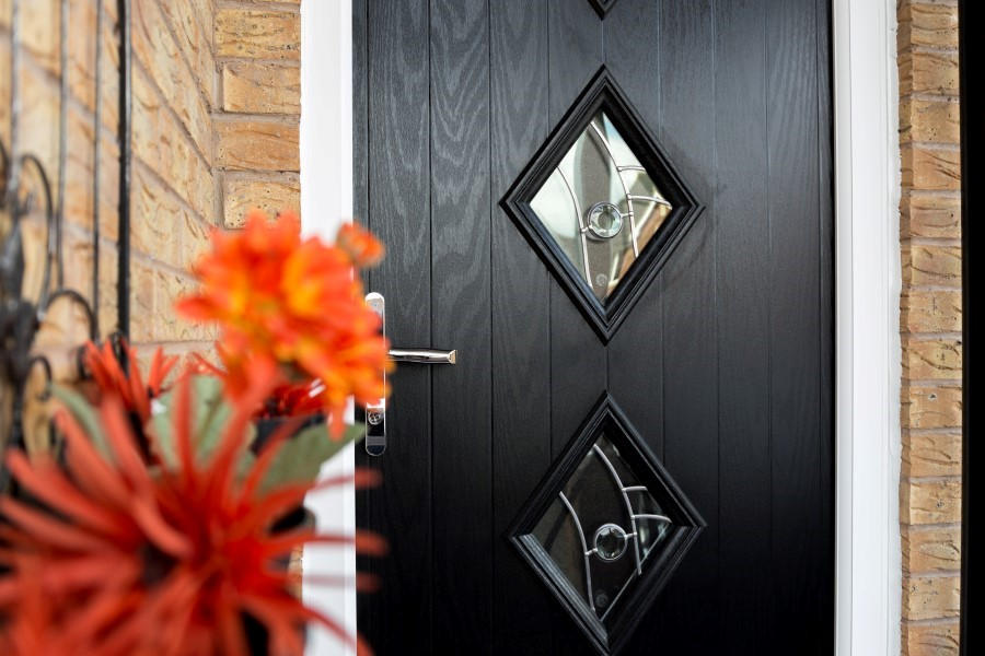 Composite guard door