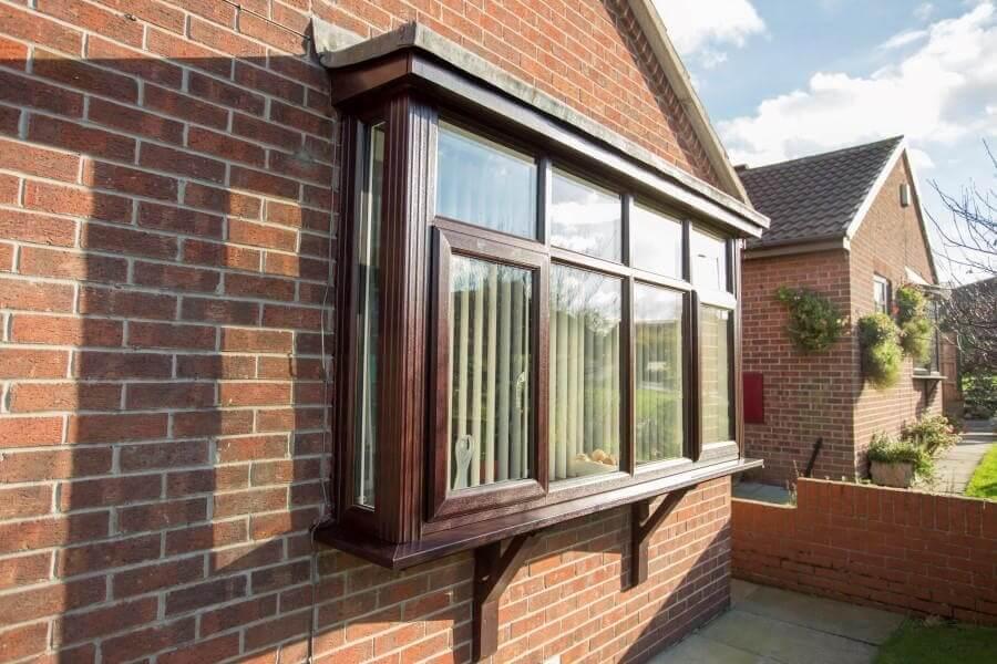 Upvc double glazed bay windows safestyle uk for Box bay windows for sale