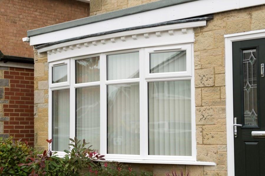 Double Bay Window : Upvc double glazed bay windows safestyle uk