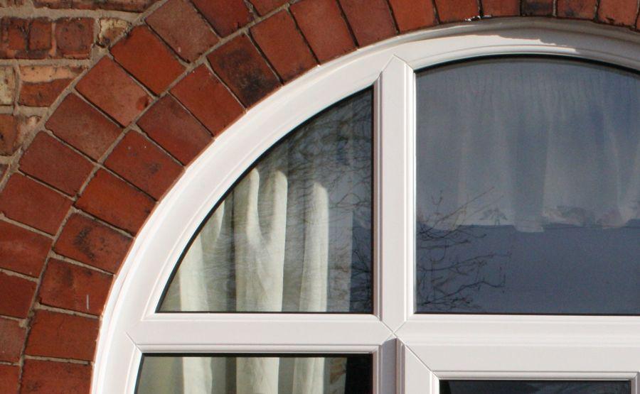 Arched upvc double glazing windows safestyle uk for Arched upvc french doors