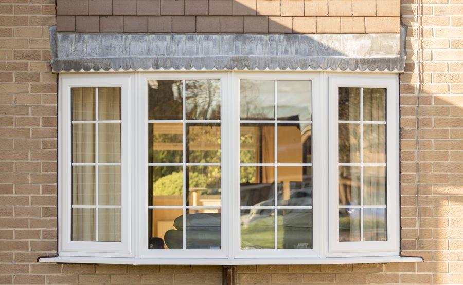 Upvc double glazed bay windows safestyle uk for Bay window designs uk