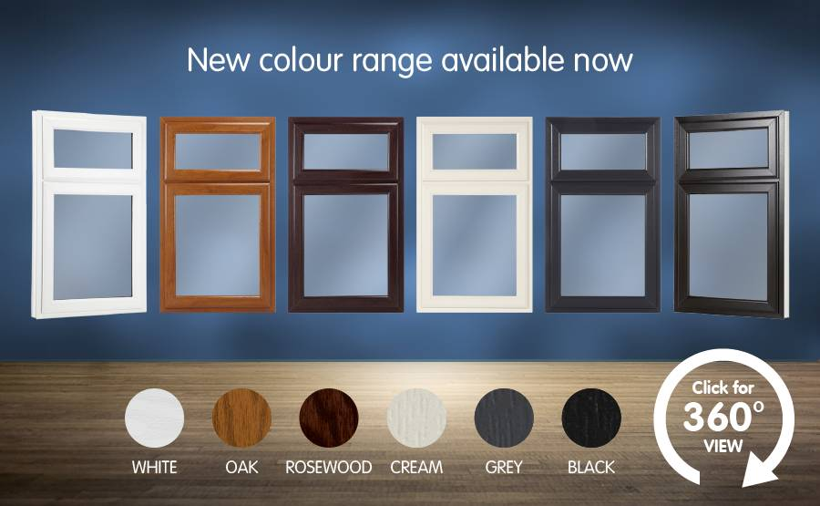 New colour range available now, white, oak, rosewood, cream, grey, black. Click for 360 degree.