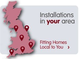 Installations in your area. Fitting homes local to you.