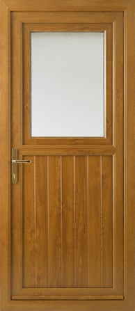 Stable door from outside