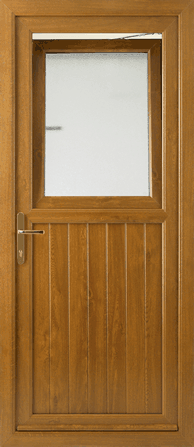 Stable door with tilt and turn