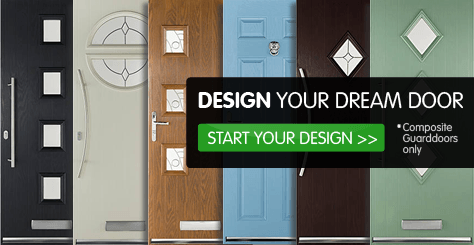 Use our design tool to create your ideal composite door, and see how it looks on your home. Choose styles, colours, handles and much more! Start your design >> *Composite guard doors only.